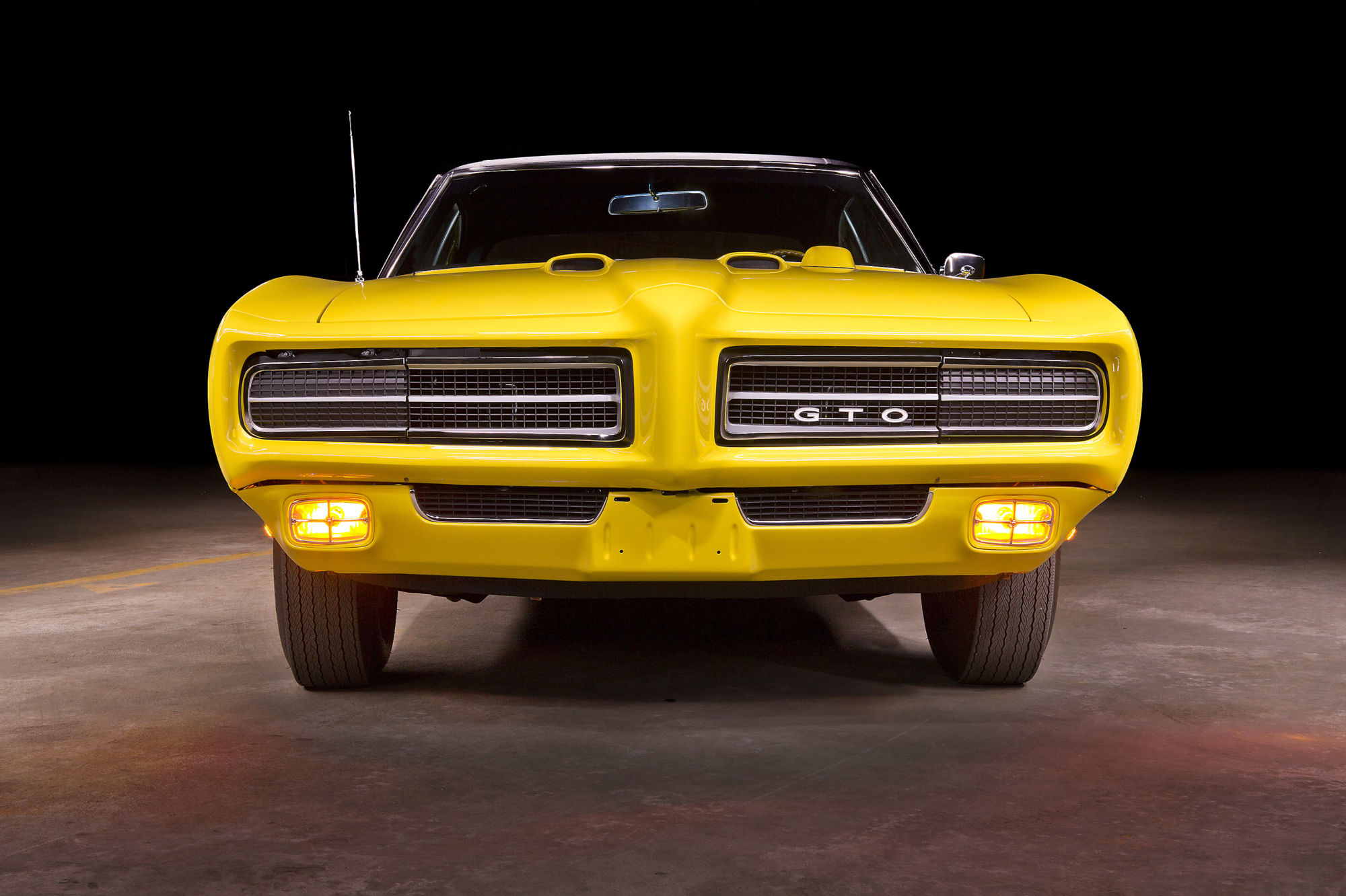 1969 Pontiac GTO Judge Ram Air IV – American Muscle Car Restorations ...