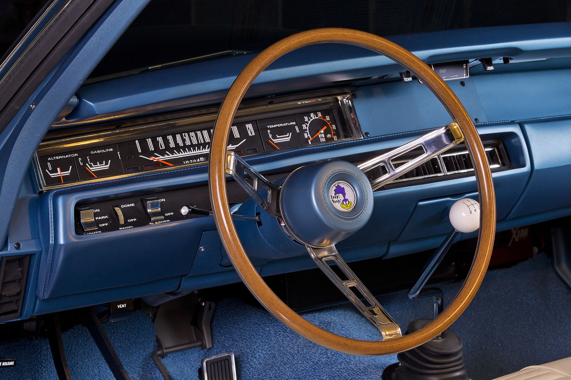 1969 Plymouth Road Runner A12 Resto Mod American Muscle Car 69 Roadrunner Alternator Wiring Diagram