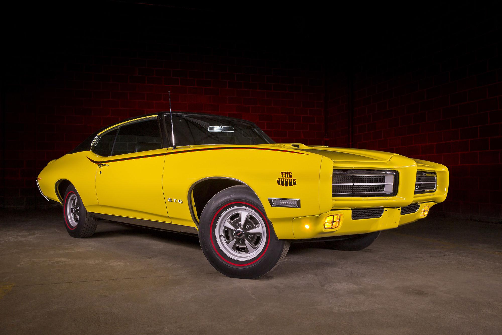 1969 Pontiac GTO Judge Ram Air IV – American Muscle Car